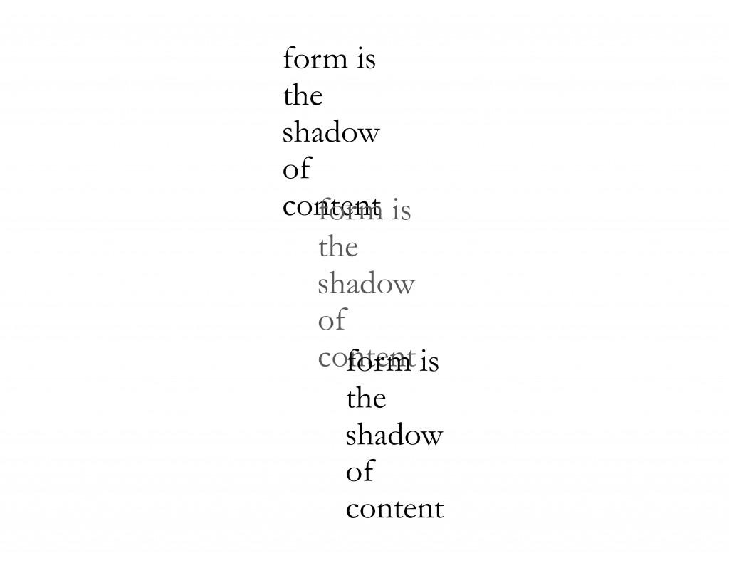 FORM SHADOW FORM